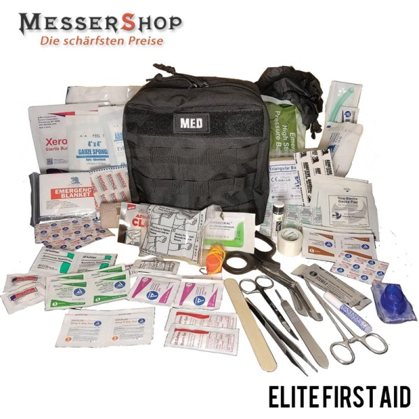 Elite First Aid Überlebensset - GP IFAK Level 2 Kit Black