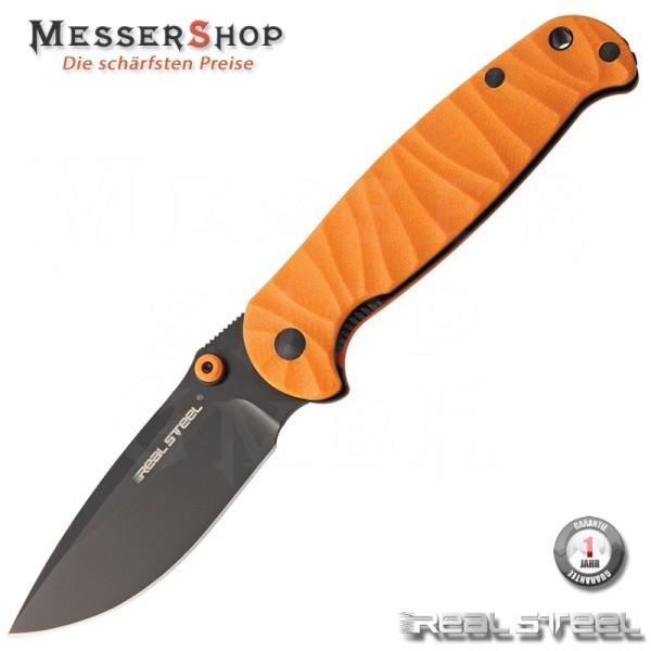 Real Steel EInhandmesser H6 Orange Black Blade