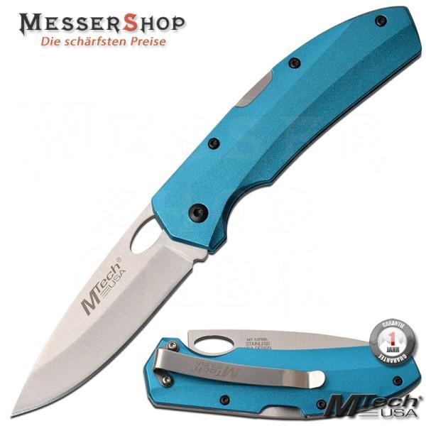 MTech USA Einhandmesser Lockback Blue