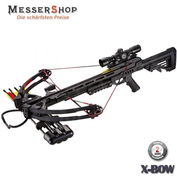 X-Bow Armbrust Wasp - 185 lbs / 370 fps in schwarz