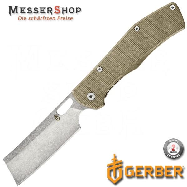 Gerber Einhandmesser Flatiron Coyote Framelock G10