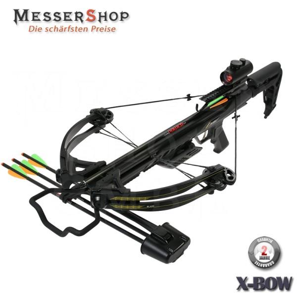 X-Bow Armbrust Blade schwarz - 175 lbs