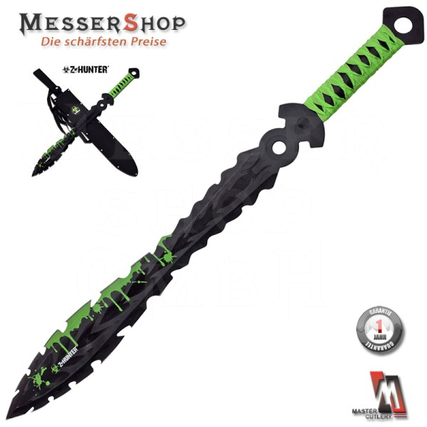 Z-Hunter Green Apocalypse Sword