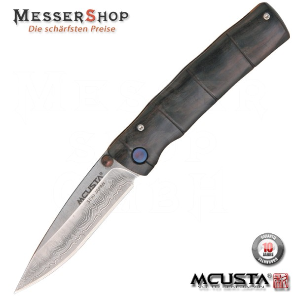 Mcusta Einhandmesser Damascus Take