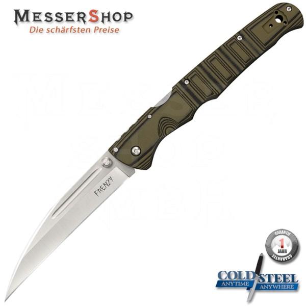 Cold Steel Einhandmesser Frenzy 1 - OD Green-Black