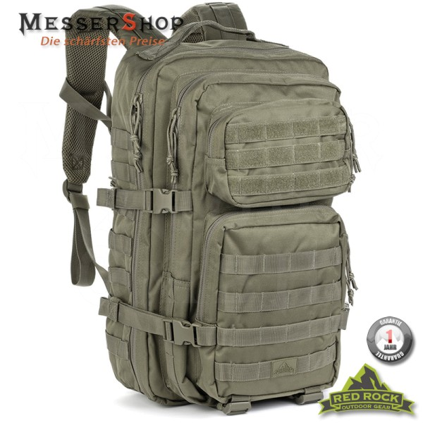 Red Rock Rucksack US Assault Pack LG OD Green - 50 Liter
