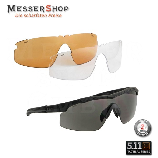 5.11 Tactical Raid 3 Lens Eyewear - Sonnenbrille