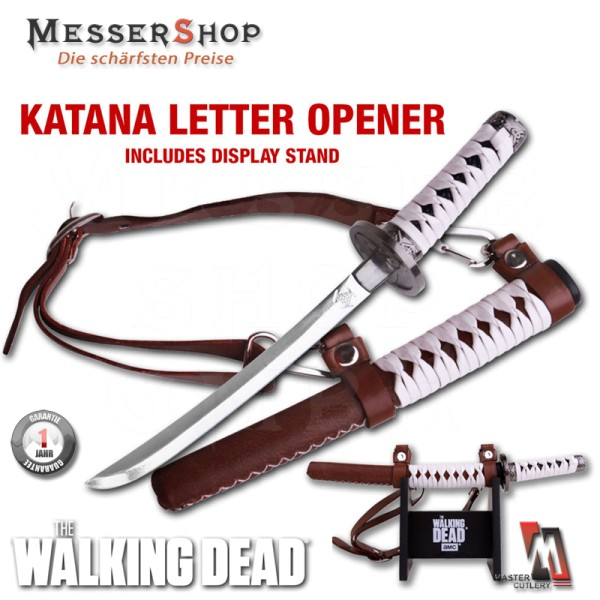 The Walking Dead - Brieföffner Michonnes Katana