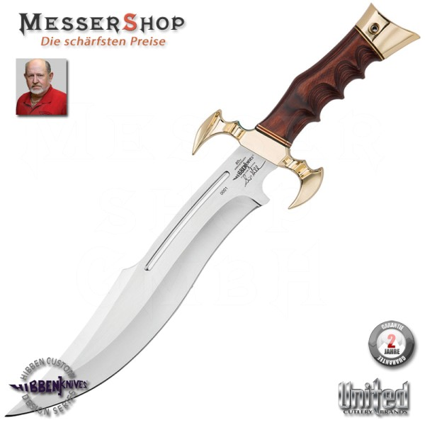 Gil Hibben 60TH Anniversary Hibben Legend Bowie Knife-Copy