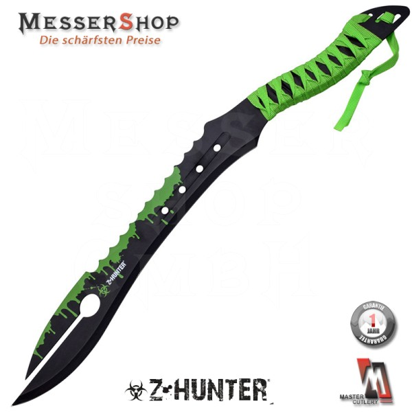 Z-Hunter Green Splatters Sword