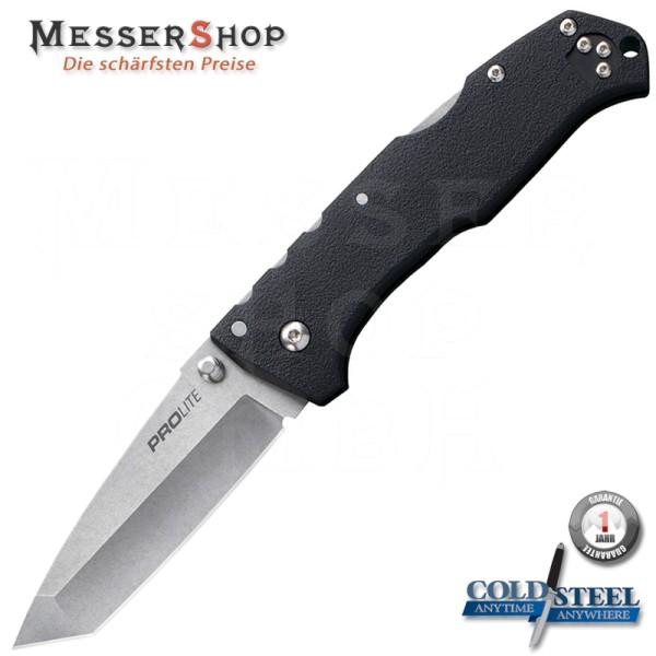 Cold Steel Einhandmesser Pro Lite Lockback Tanto - Black