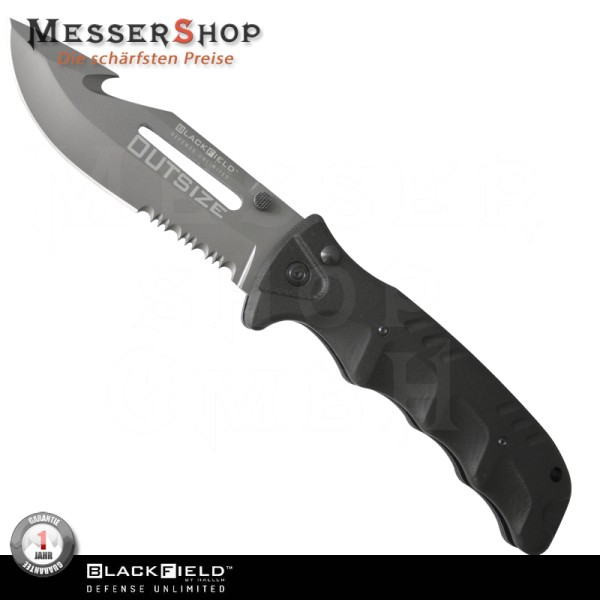 BlackField Einhandmesser Outsize