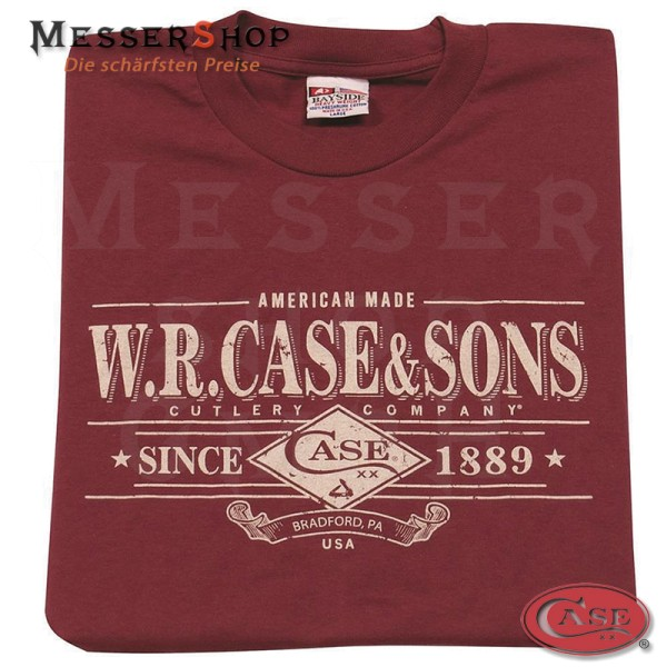 Case Shirt Maroon