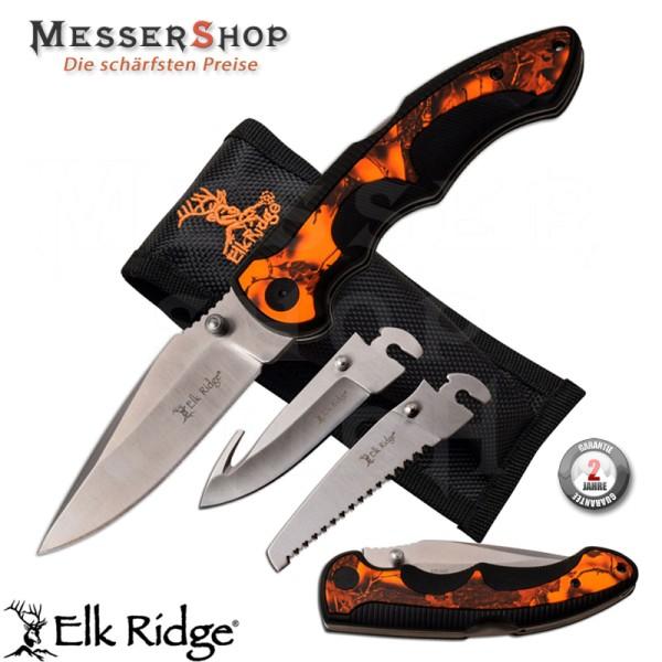 Elk Ridge Einhandmesser Blade Change Lockback Camo