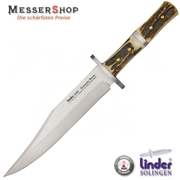Linder Kentucky Bowiemesser - 2006 International Knife Award Sieger!