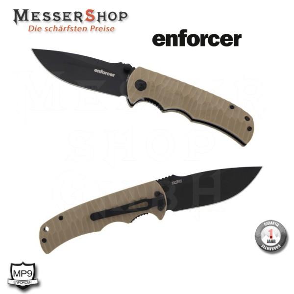 MP9 Enforcer Einhandmesser Rhino-K