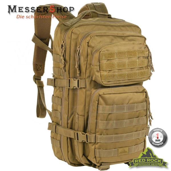 Red Rock Rucksack US Assault Pack LG Coyote - 35 Liter