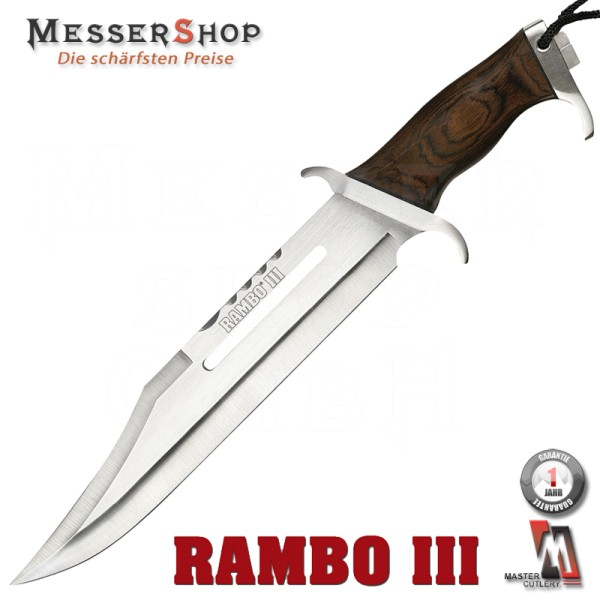 Rambo First Blood Bowie Part III Standard Edition