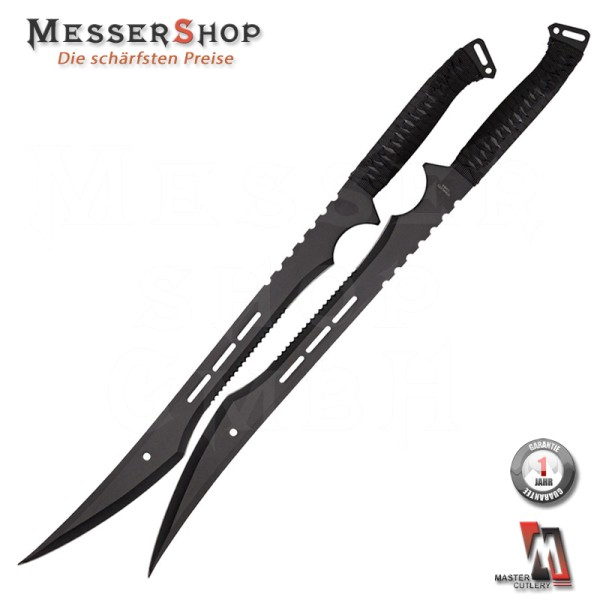 Master Cutlery Twin Fulltang Sword - 2er Set