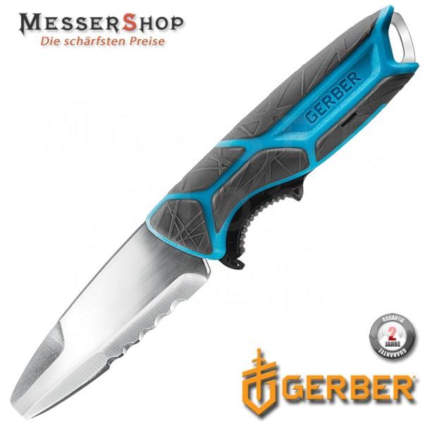 Gerber Outdoormesser CrossRiver Fixed Blade - Blue