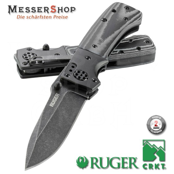 CRKT Ruger Einhandmesser All-Cylinders Linerlock