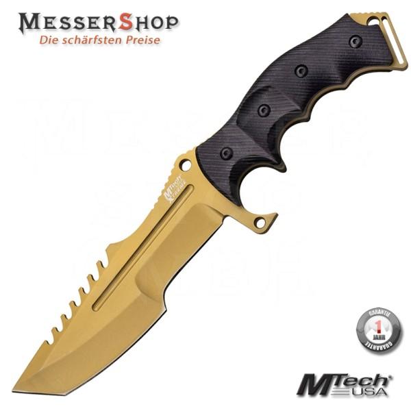 MTech Einsatzmesser Tactical Fighter - Gold