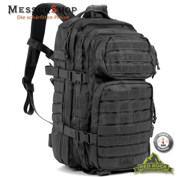 Red Rock Rucksack US Assault Pack LG schwarz - 35 Liter
