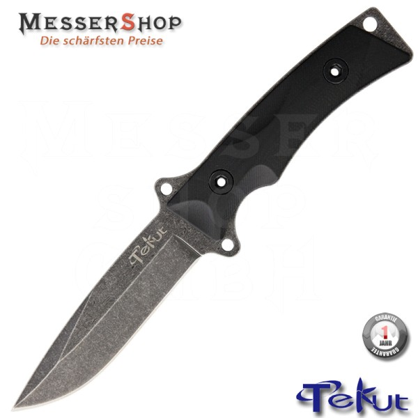 Tekut Einsatzmesser Tactical Fixed Blade Stonewash