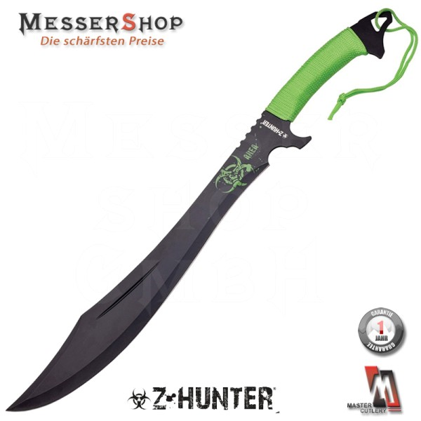 Z-Hunter Machete Green Handle Cordle - Pat II