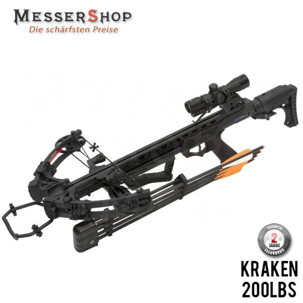 Compound Armbrust Gewehr Kraken 200 lbs