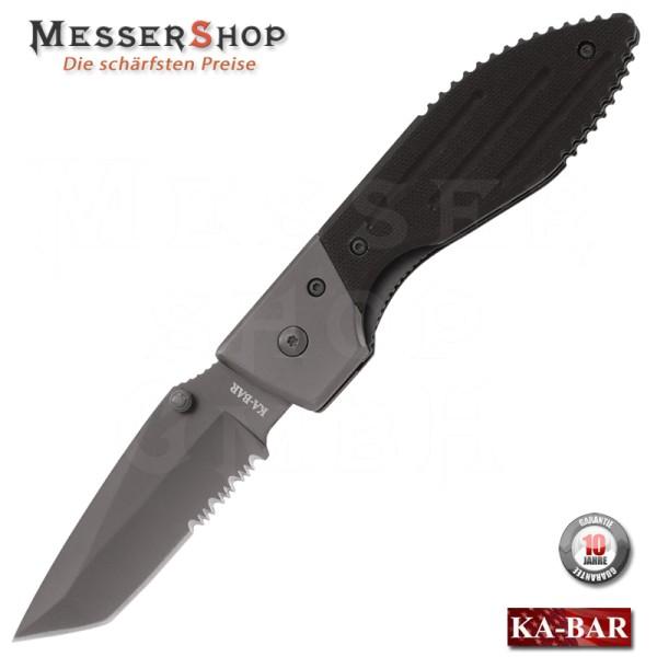Ka-Bar Einhandmesser Warthog II Plain Edge 4 1/2 - Teilwellenschliff