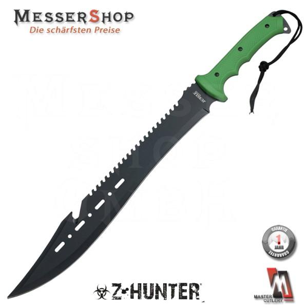 Z-Hunter Machete Green Handle