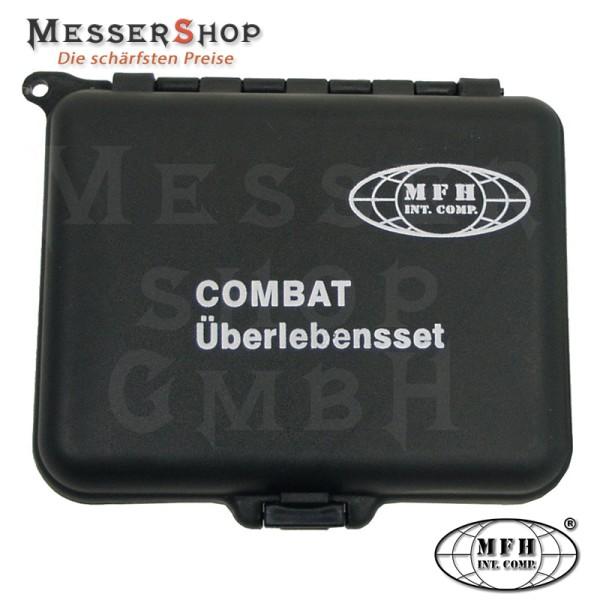 Combat Überlebensset - wasserdichte Box mit Zubehör
