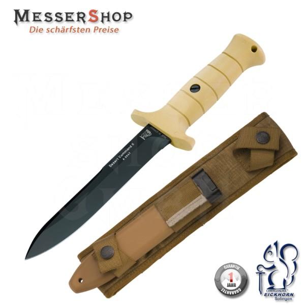 Eickhorn Kampfmesser DESERT COMMAND II - Glattschliff