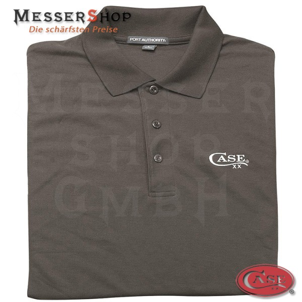 Case Polo Shirt Gray