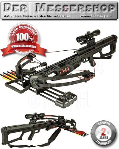 X-Bow Armbrust-Set Red Hornet - 175 lbs / 360 fps