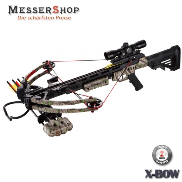 X-Bow Armbrust Wasp - 185 lbs / 370 fps in Green Camo